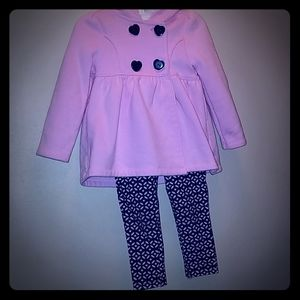 Infant girl's 3 piece outfit